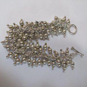 Silpada Cha Cha Ball bracelet sterling silver 925
